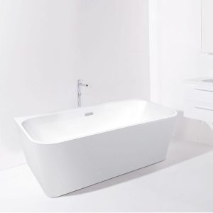 Curve_Back-to-Wall_Freestanding_Bath