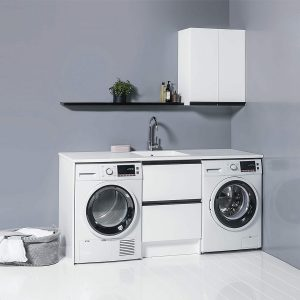 Enhance your laundry space by adding a 600 Top Cupboard